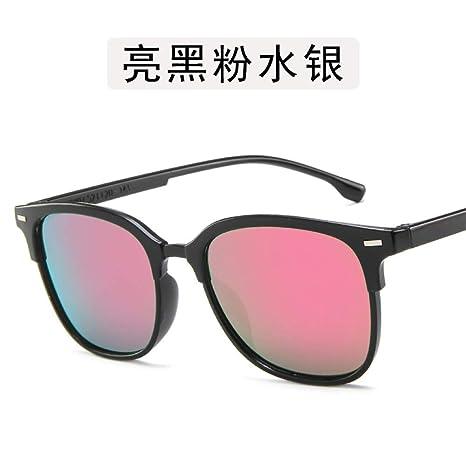 Yangjing-hl Gafas de Metal Caja de Gafas Gafas de Sol Gafas ...