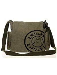 Ghibli Anime My Neighbor Totoro Plush BAG Lovely canvas Bag Side of the bag