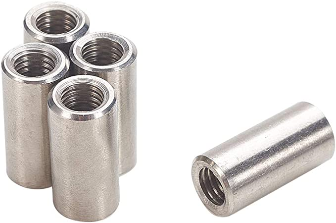 Eowpower 5Pcs Japanese Style M8 Stainless Steel 304 Ring Shape Lifting Eye Nut