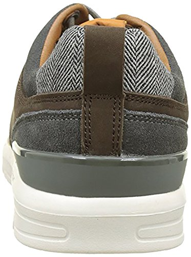 Jayden Nubuck Sneakers Brown Basses Jeans Homme Pepe Bleu 5x7wHH