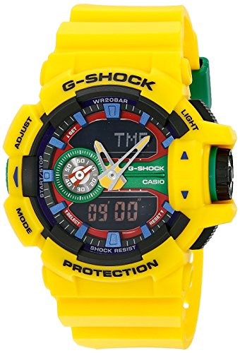 Casio G Shock Orange Multifunction GA400A 9A