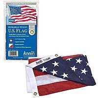 Annin Flagmakers 4x6 ft. Nylon Solar Guard Model 2220 American Flag