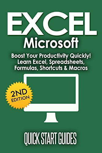 excel 2nd edition microsoft boost your productivity quickly