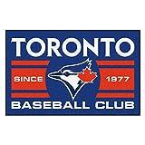 FANMATS 18487 Toronto Blue Jays Baseball Club Starter Rug