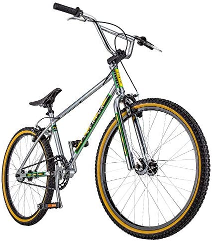 Schwinn Predator Team 24 Freestyle BMX Mens Bike, 24-Inch Gum Wall Tires, Single-Speed Drivetrain, Steel Frame, Classic 1983 Design