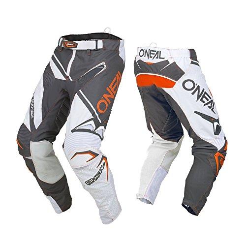 O'Neal Men's Hardwear Rizer Pant (Gray, Size 34) -
