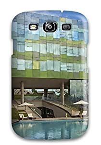 Defender Case For Galaxy S3, Architecture Home Entrances Pattern