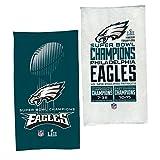 "Philadelphia Eagles Super Bowl LII 52 Champions Official Locker Room Celebration Towel - 22"" X 42"""