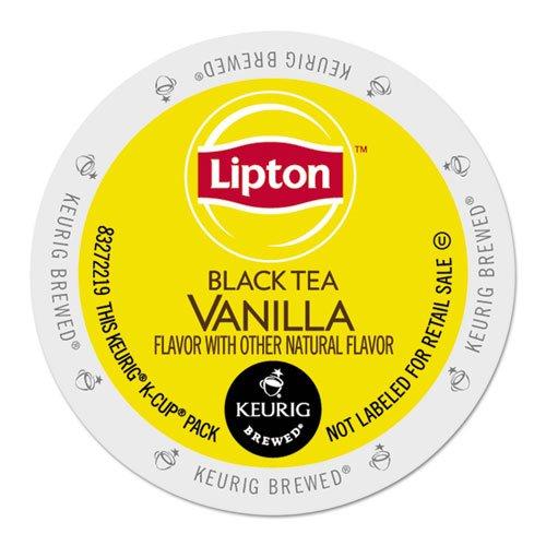 Lipton Vanilla Black Tea 48 K-Cups for Keurig Brewers