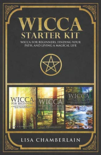 Wicca Starter Kit: Wicca for Beginners, Finding Your Path, and Living a Magical Life by Chamberlain Publications