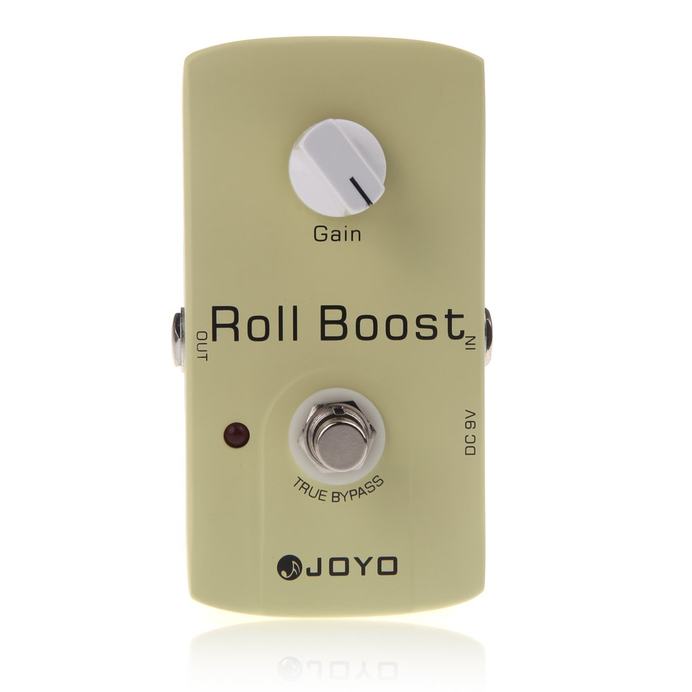 Andoer JOYO JF-38 Electric Guitar Effect Pedal Roll Boost Clean Volume True Bypass Design