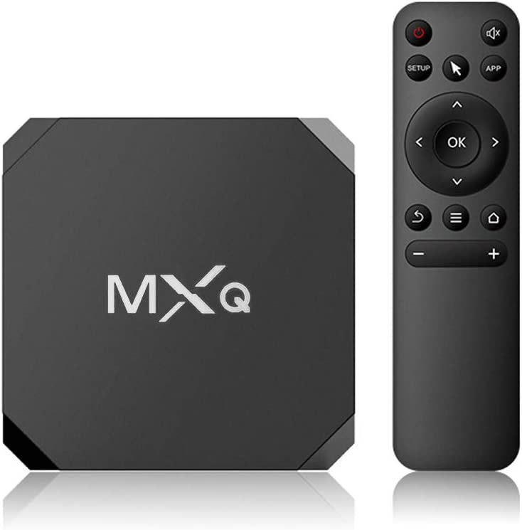 MXQ Android 7.1 TV Box Media Player Amlogic S905W Quard-core 1G+8G WiFi Ultra HD 4Kx2K up to 30fps 2.4GHz Smart OTT TV Box Vedio Player for Home Entertainment