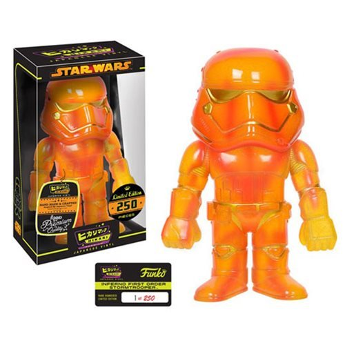 RARE LTD 250 Star Wars Inferno First Order Stormtrooper Hikari Sofubi Vinyl Figure