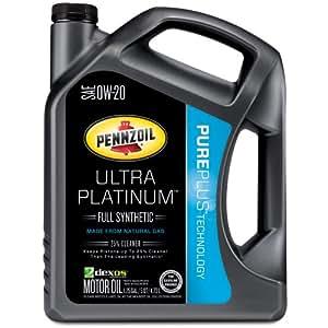 pennzoil 550039870 3pk ultra platinum 0w 20