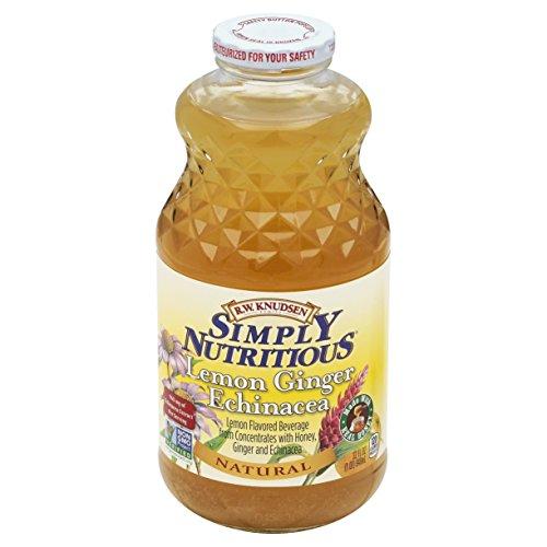 - Knudsen Simply Nutritious Lemon Ginger Echinacea Flavored Beverage, 32 oz