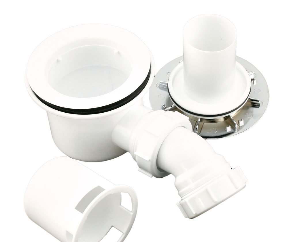 90mm High Flow Shower Waste Trap A&R Bathrooms