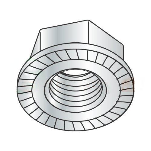 DIN6923 M12-1.75 Hex Flange Locknuts//Serrated//Class 8 Carton: 500 pcs Zinc