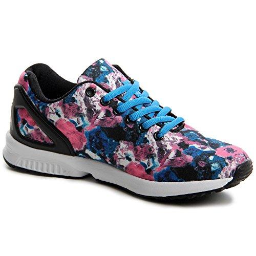Blu Sneaker Miami Sneaker Topschuhe24 Topschuhe24 Donna Donna Miami rBq4r0x