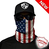 Salt Armour Shield American Flag Face Shield Mask Hunting Fishing Outdoor