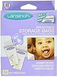 Lansinoh Breastmilk Storage Bags 50 Ea (3 Pack)