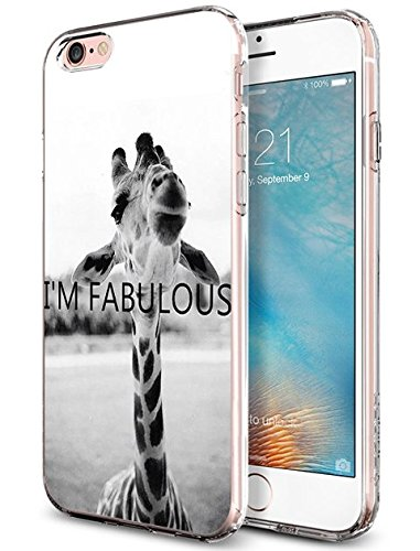 Slim Fit Case for iPhone 6 6s 4.7 inch Funny Animal