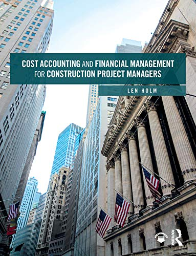 Pdf Transportation Cost Accounting and Financial Management for Construction Project Managers