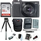 Canon Powershot G9 X Mark II Digital Camera with 32GB Card and Bundle
