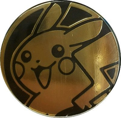 Pikachu Coin from the Pokemon Trading Card Game (Large Size) - (Pikachu Coin)