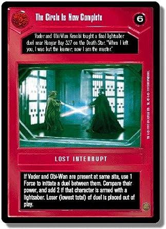 FOIL Vader/'s Lightsaber Star Wars CCG Reflections I 1