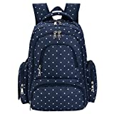 BIG SALE - Baby Diaper Bag Smart Organizer Waterproof Travel Diaper Backpack with Changing Pad and Stroller Clips