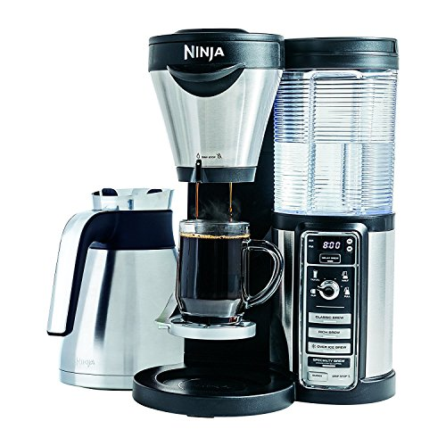 Ninja Coffee Bar with Thermal Carafe and and Auto-iQ One Touch Intelligence – CF087 (Certified Refurbished)