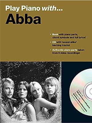 Play Piano With... Abba. Partituras, CD para Piano, Voz y Guitarra ...