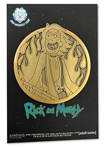 Golden Rocker Rick - Limited Edition Collectible Pin