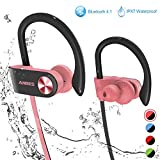 Best Earbuds For Under 50s - Bluetooth Headphones, ANBES IPX7 Waterproof Wireless Earbuds, Sports Review