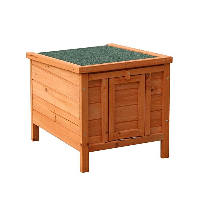 Amazon.com: AyaMastro - Caseta de madera de abeto de 20 ...
