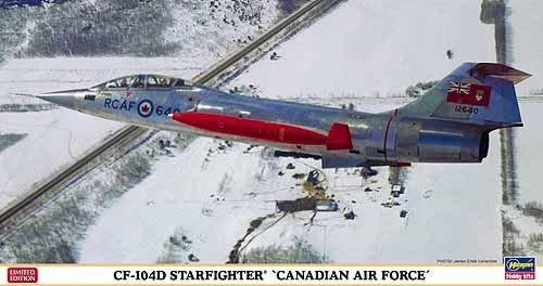 ハセガワ 1/48 飛行機シリーズ 09955 CF-104D スターファイター  カナダ空軍