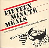 img - for Fifteen Minute Meals book / textbook / text book