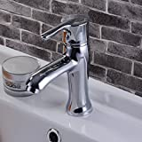 Furesnts Modern home kitchen and Bathroom Sink Taps all bronze Basin tap mixed hot and cold shower Bathroom Sink Taps,(Standard G 1/2 universal hose ports)