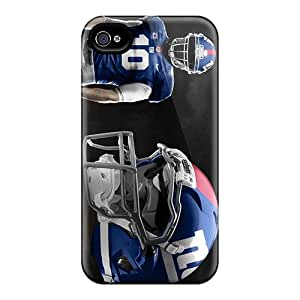 High Quality Hard Phone Cover For Iphone 4/4s (NlI10086tAJo) Allow Personal Design Vivid New York Giants Series
