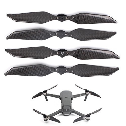 Joint Victory 8331F Low Noise Carbon Fiber Propellers Quick-release Foldable Props Blades for DJI Mavic Pro/Platinum (2 pairs)