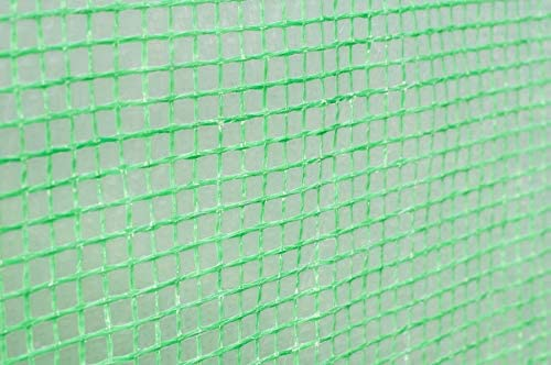 Green x 2M H x 2M Polytunnel Greenhouse Poly Tunnel Tunnel 3 Section Cover Only Garden Point 3M W L