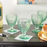 Villeroy & Boch Boston Wine Clarets Set of 4, Green