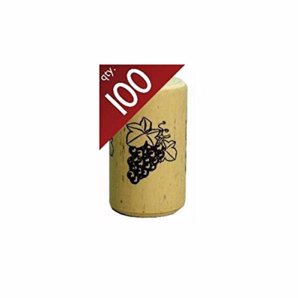 Nomacorc Synthetic Wine Corks #9 x 1 1/2''.  Bag of 100 by Midwest Homebrewing and Winemaking Supplies
