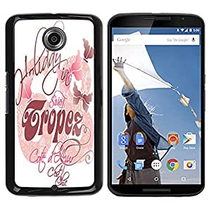 Dragon Case - FOR NEXUS 6 / X / Moto X Pro - makes you happy - Caja protectora de pl??stico duro de la cubierta Dise?¡Ào Slim Fit