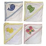 Four Seasons Assorted Baby's Hooded Terry Towel, 24''