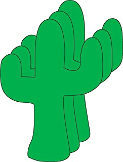 product image for Cactus Small Single Color Creative Cut-Outs