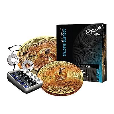 Zildjian Gen16 Buffed Bronze 13/18 Cymbal Set by Avedis Zildjian Company