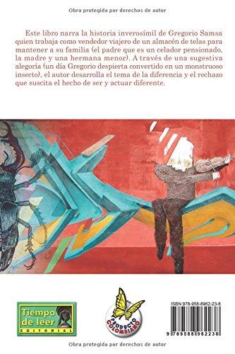 La metamorfosis (Spanish Edition): Sr. Franz Kafka F.K, Ilus Oscar Ivan Hernandez: 9789588962238: Amazon.com: Books