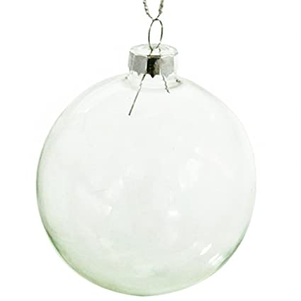 christmas ornaments ball clear glass balls perfect use for family drawing room wedding and