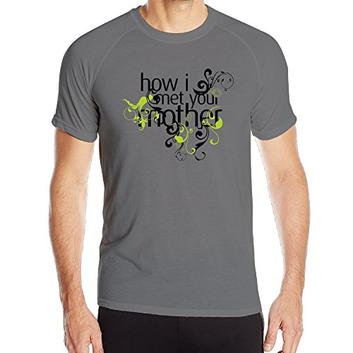Running Cool Polyester Gentleman How I Met Your Mother Medium T-shirt